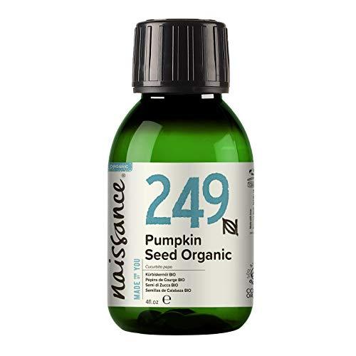Naissance Pumpkin Seed Oil 100ml Certified Organic 100% Pu