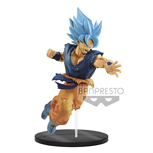 Banpresto Ultimate Soldiers Dragon Ball Super Broly Movie Saiyan God Goku Figure Statue