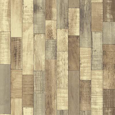 XZPQSSW Tapisserie 3D-PVC-Hauptdekorholzmaserung Wand-Aufkleber Papier Ziegelsteintapete Rustic Effekt Selbstklebende Wohnkultur Aufkleber Tapete Tapisserie (Farbe : SA 2006, Dimensions : 45cmx5m)