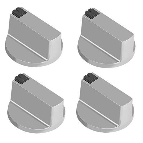 6mm Gasherd Knöpfe universal Zink Legierung Küche Herd Drehknopf Locks Ofen Schalter Kochfläche Control