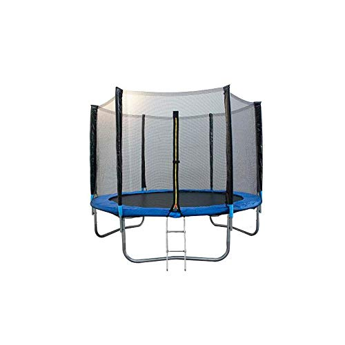 ATAA Cama elástica Infantil 250 - Azul Cama elástica para niños Muy Resistente y Segura. Apta para Exteriores y Jardines 2,50 Metros
