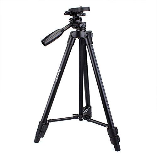 Svbony SV102 Universeel Reis Statief 125CM Lichtgewicht Camerastatief voor Verrekijker Monoculair Spotting Scope Statief met Tas