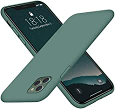 """DTTO iPhone 11 Pro Case 2019, [Romance Series] Full Covered Shockproof Silicone Cover [Enhanced Camera and Screen Protection] with Honeycomb Grid Cushion for Apple iPhone 11 Pro 5.8 """", Midnight Green"""