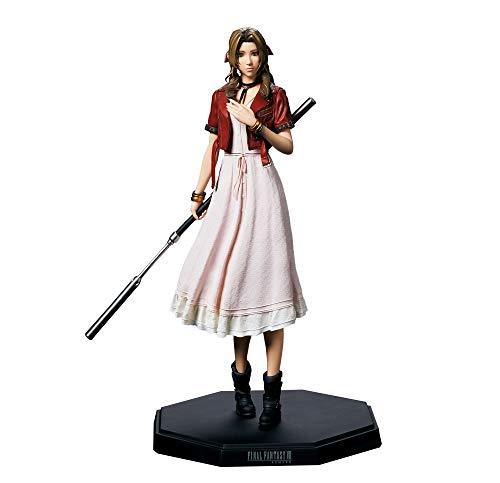 Square Enix Final Fantasy VII Remake: Estatueta de Aerith Gainsborough, multicolorida