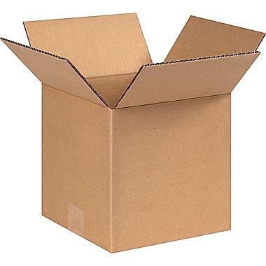 REALPACK® 10 x cajas tamaño de pared individual: 20 x 20 x 20 cm – ideal