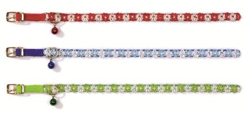 Katzen-Halsband, mit Blumen, Nylon