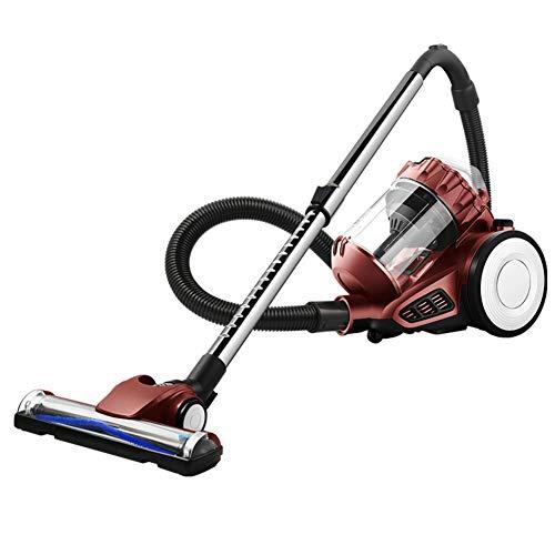 Sin bolsa Frasco aspirador, Mano Alta potencia Matanza mute Aspiradora de alfombras, 1400w 220v-marrón