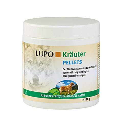 Luposan Kräuter Pellets für Hunde (180 g)