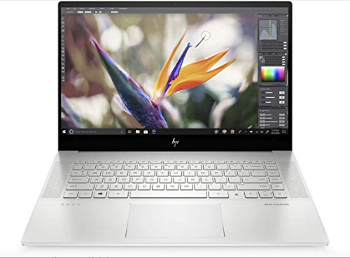 HP Envy 15-ep0008na 15.6-inch 4K UHD AMOLED Touchscreen Laptop Silver - Intel Core i7-10750H (UPTO 5.0 GHZ), NVIDIA GeForce RTX 2060 with Max-Q design, 16 GB RAM, 1TB SSD, Windows 10
