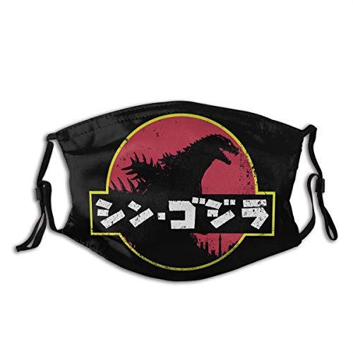 Godzilla Mundschutz Schützen Sie Bequeme atmungsaktive Sicherheit Luftnebel Outdoor Fashion Half Face Shield - für Mann und Frau
