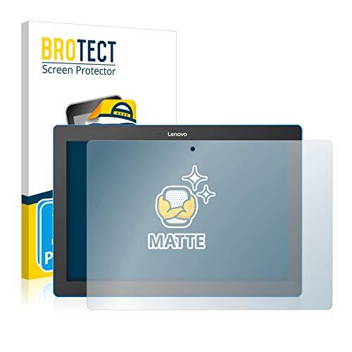 BROTECT Protector Pantalla Anti-Reflejos Compatible con Lenovo Tab 10 TB-X103F (2 Unidades) Pelicula Mate Anti-Huellas
