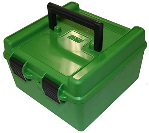 MTM R-100 Deluxe 100 Round Rifle Ammo Box 22-250 243 270 308...