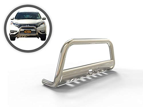 VANGUARD Stainless Steel Classic Bull Bar | Compatible with 07-18 Acura RDX / 07-16 Honda CR-V