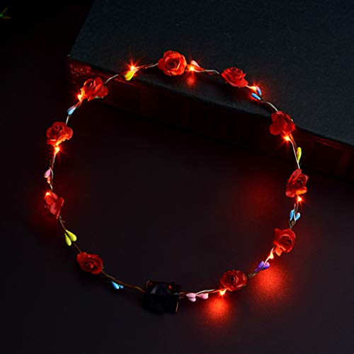 Xuniu haarband met LED-licht