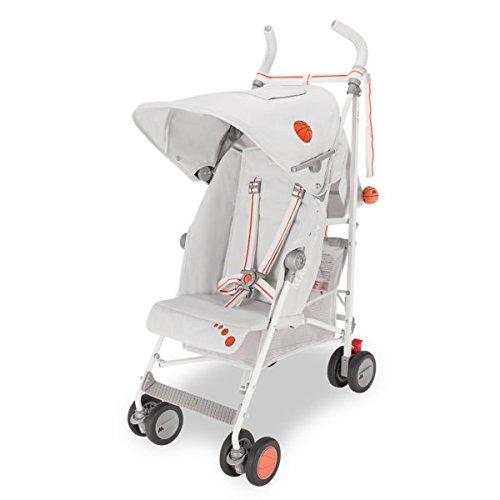 Maclaren all star Buggy – Leicht, sportlich. 6 Monate+. Einfach zu lenken, zu drehen, zu falten und zu tragen. Erweitertes Verdeck, verstellbarer Sitz, großer Korb. Regenschutz inklusive