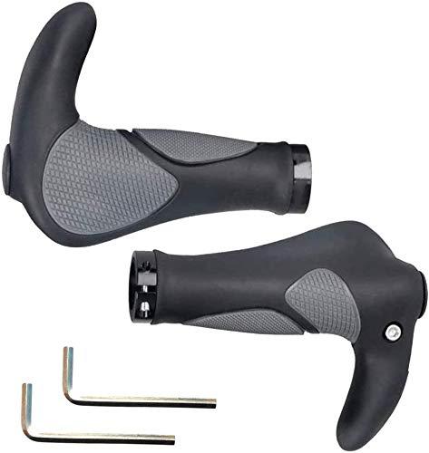 Fahrradgriffe Fahrradlenker, Rutschfest Lenkergriffe Lenker Handgriffe für MTB, Mountainbike, E-Bike (22mm)