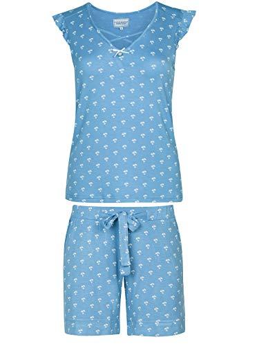 Vive Maria Anna's Wish Pyjama Blau Allover, Größe:S