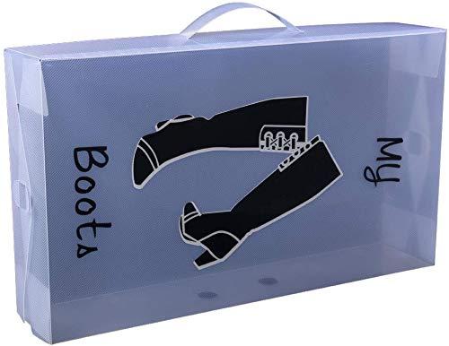 Loywe Schuhaufbewahrung Stiefelbox Schuhkasten Stiefel 52x30x11cm, LWA191