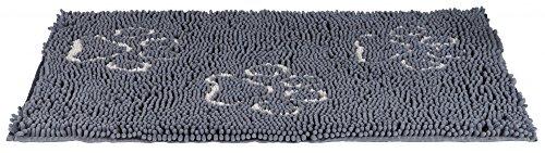 Trixie 28640 Schmutzfangmatte, wasserdicht, 80 × 55 cm, grau