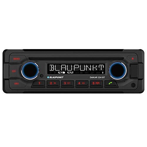 Blaupunkt Dakar 224 BT   1-DIN, Bluetooth-Freisprecheinrichtung, 24 V, Heavy Duty Design, Dakar224BT