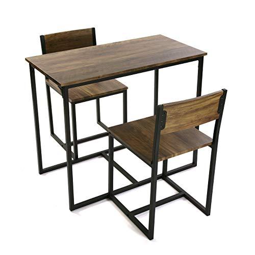 Versa Mesa con Dos sillas, PVC, 75 x 45 x 89 cm