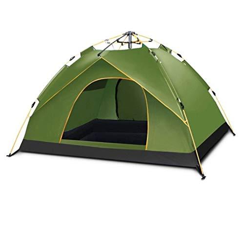 SSG Home Utilisation Multiple Sports de Plein air Tente Camping Épaississement Sunscreen Pluie à l'extérieur Portable Automatique Intérieur Tente Pliante Coupe-Vent Respirant Équipement d'extérieur