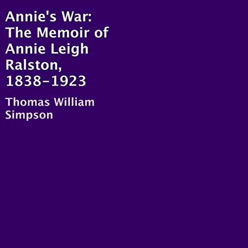 Annie's War audiobook cover art