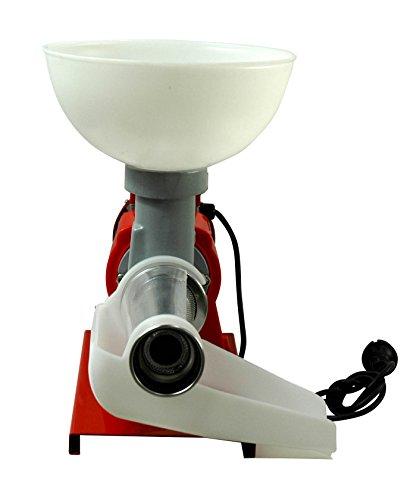 Fischer Kellereitechnik: Elektrische Tomaten-Passier-Maschine/Beerenmühle für intensiven Gebrauch mit Edelstahlsieb
