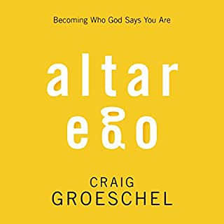 Altar Ego audiobook cover art