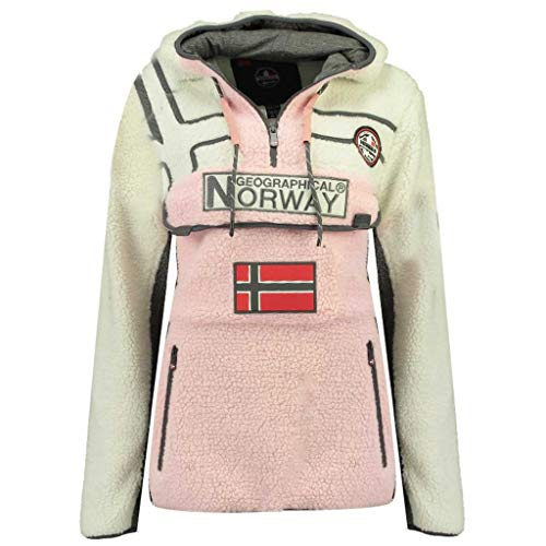 Geographical Norway Polar RIAKOLO Mujer Rosa 04