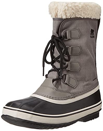 Sorel Women's Winter Carnival Boot - Rain and Snow - Waterproof - Black, Quarry - Size 8.5