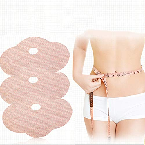 Slim Patches, 2Pcs Belly Slimming Weight Loss Patch Abdominal Fat Burner Lazy Natural Body Navel Wrap Removal Cellulite Magnetic Detox Thin Paste Tighten Stickers for Beer Bucket Waist