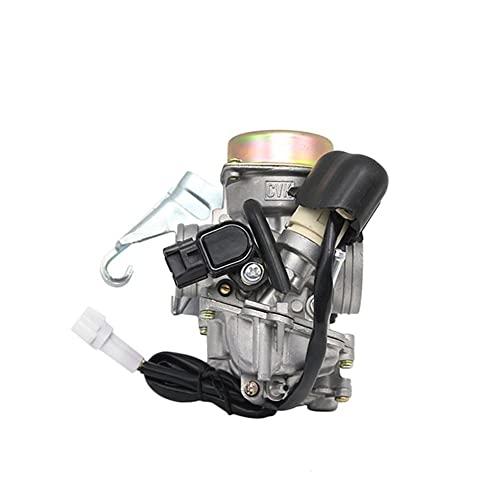 Rendimiento Scooters para K&eihin Motocicleta CVK24 24,5mm carburador carburador electrónico Choke GY6 100125150 CC S&Cooter reemplazar Scooters