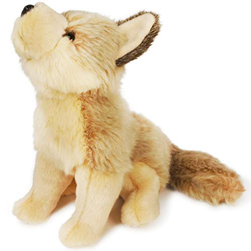 VIAHART Hester The Howling Wolf   7.5 Inch Stuffed Animal Plush   by Tiger Tale Toys