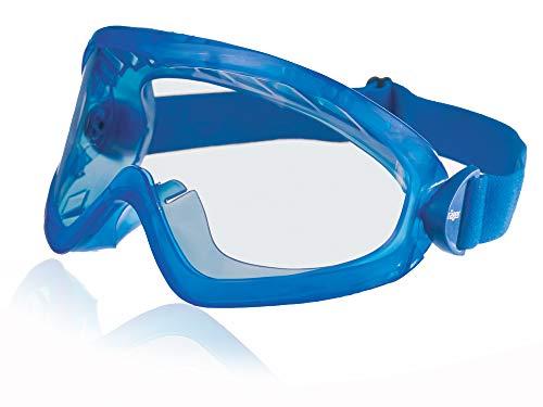 Dräger Schutzbrille X-pect 8515 | Staubdichte beschlagfreie Vollsichtschutzbrille | Für Baustelle, Labor, Werkstatt | Kratzfeste Acetatscheibe für hohe chemische Beständigkeit | 1 St.