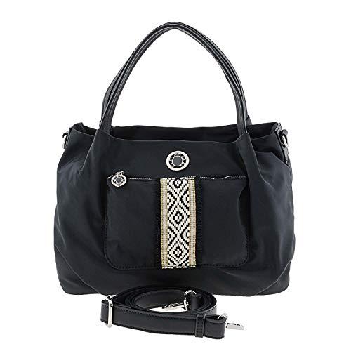 CAMINATTA Bolso hombro lona S304 Matisse Talla: U Color: NEGRO