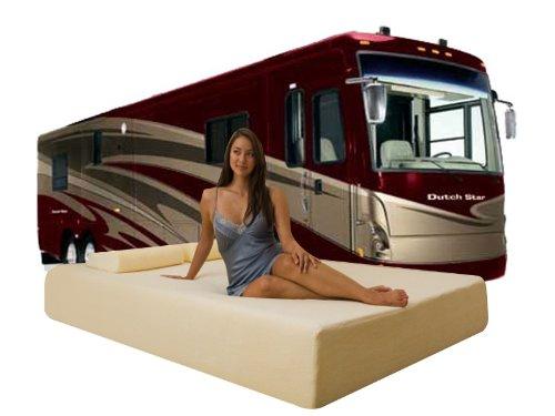 "Hot Sale DynastyMattress Deluxe 10-Inch Memory Foam Short Mattress for RV, Camper-QUEEN Size:(H)10""x(W)60""x(L)75"""