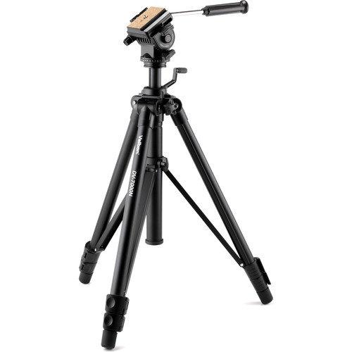 Velbon Videomate-538/F Aluminum Video & Bird-watchingSeries 3-Section Tripod,