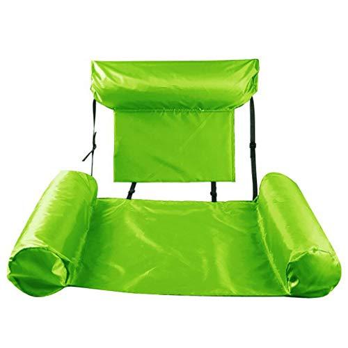 Piscina hinchable Piscina para adultos Alta flotante inflable, bola flotante de cama de agua multifuncional, colores múltiples, piscina de verano Sillones, hamaca de agua descanso, fiestas de agua int
