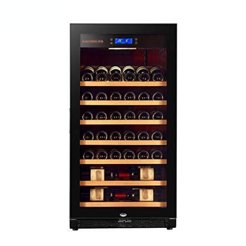 hanzeni Nevera para Vino - La Capacidad Es 220L Refrigerador De Vino De Compresor Libre De Escarcha para Vinos Blancos Y Tintos con Control De Temperatura De Memoria Digital
