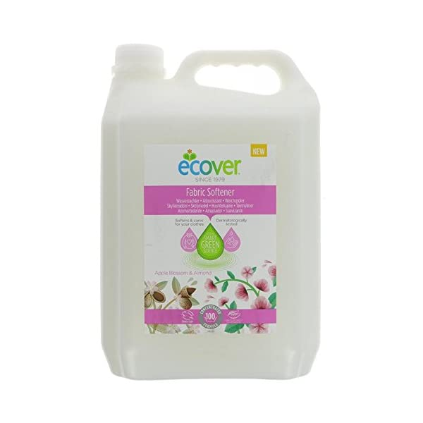 Ecover | Fabric Conditioner Soft Apple | 5l 1
