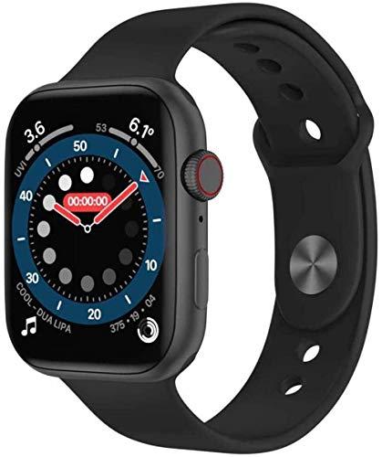JIAJBG Sports Smart Watch, 1.78 Pulgadas Ips Pantalla Táctil Completa Smart Bluetooth Reloj Multi-Sports Pattern Watch-C6 El mejor regalo / C1