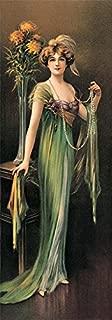 Ruby Victorian by Charles Allan Gilbert Art Print Poster (8 x 23)