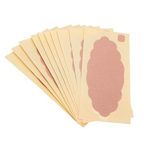 Almohadillas absorbentes de sudor en las axilas, parches unisex desechables para las axilas para desodorante y antitranspirante, transpiración, adhesivo para sudor en las axilas