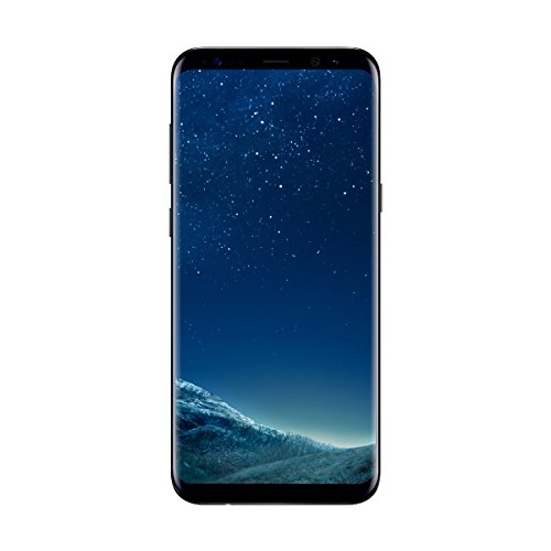 """Samsung Galaxy S8 Plus - Smartphone libre de 6.2"""" QHD+ (4 G, Bluetooth, Octa-Core S, 64 GB memoria interna, 4 GB RAM, camara de 12 MP, Android), Negro, - [Versión española]"""