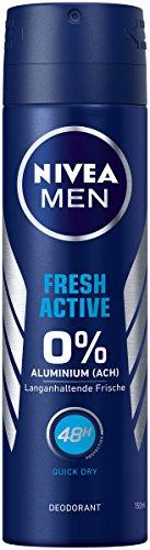Nivea Men Frais Active Déodorant Spray, 150 ML