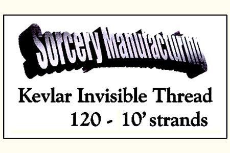 Hilo invisible en Kevlar negro