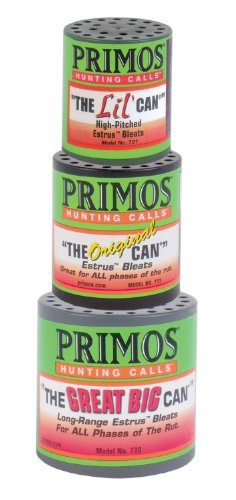 Primos Hunting 713 Deer Call, The Can Family Pack, Green