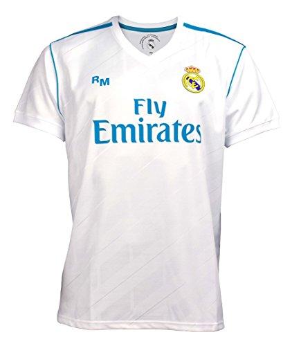 Camiseta Real Madrid Oficial Junior Primera equipación (Talla Ropa 4 años)