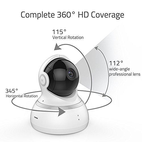 YI Dome Überwachungskamera- IP Kamera Full HD 1080p Nachtsicht